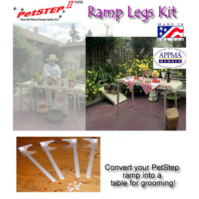 Multi-Purpose Dog Ramp Legs (Set of 4)