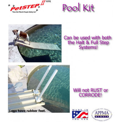 Multi-Purpose Dog Ramp Swimming Pool Legs Kit