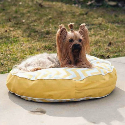 Snoozer Round Pool & Patio Outdoor Dog Bed