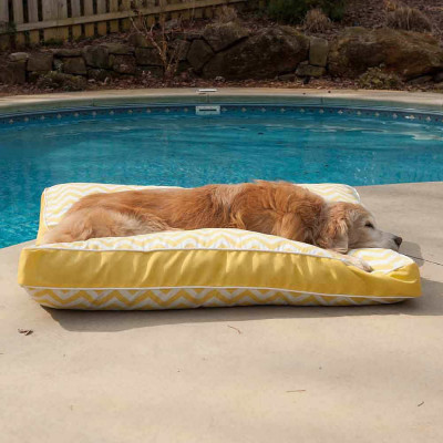 Snoozer Pool & Patio Rectangle Outdoor Dog Bed