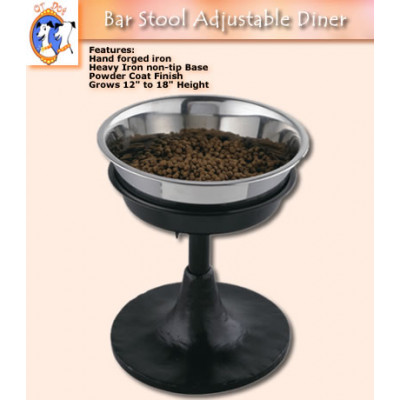 Adjustable Barstool Pet Diner
