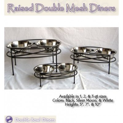 Double Mesh Pet Diners