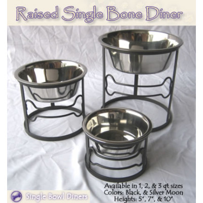Single Bone Pet Diners