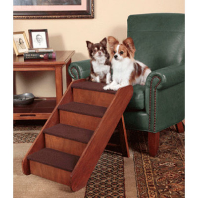 Solvit Extra Large Pup Step Wood Stairs
