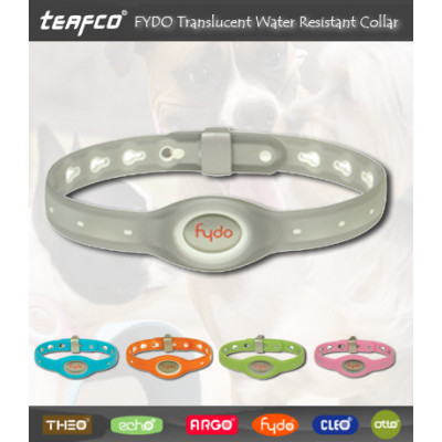Fydo Translucent Water Resistant Pet Collar