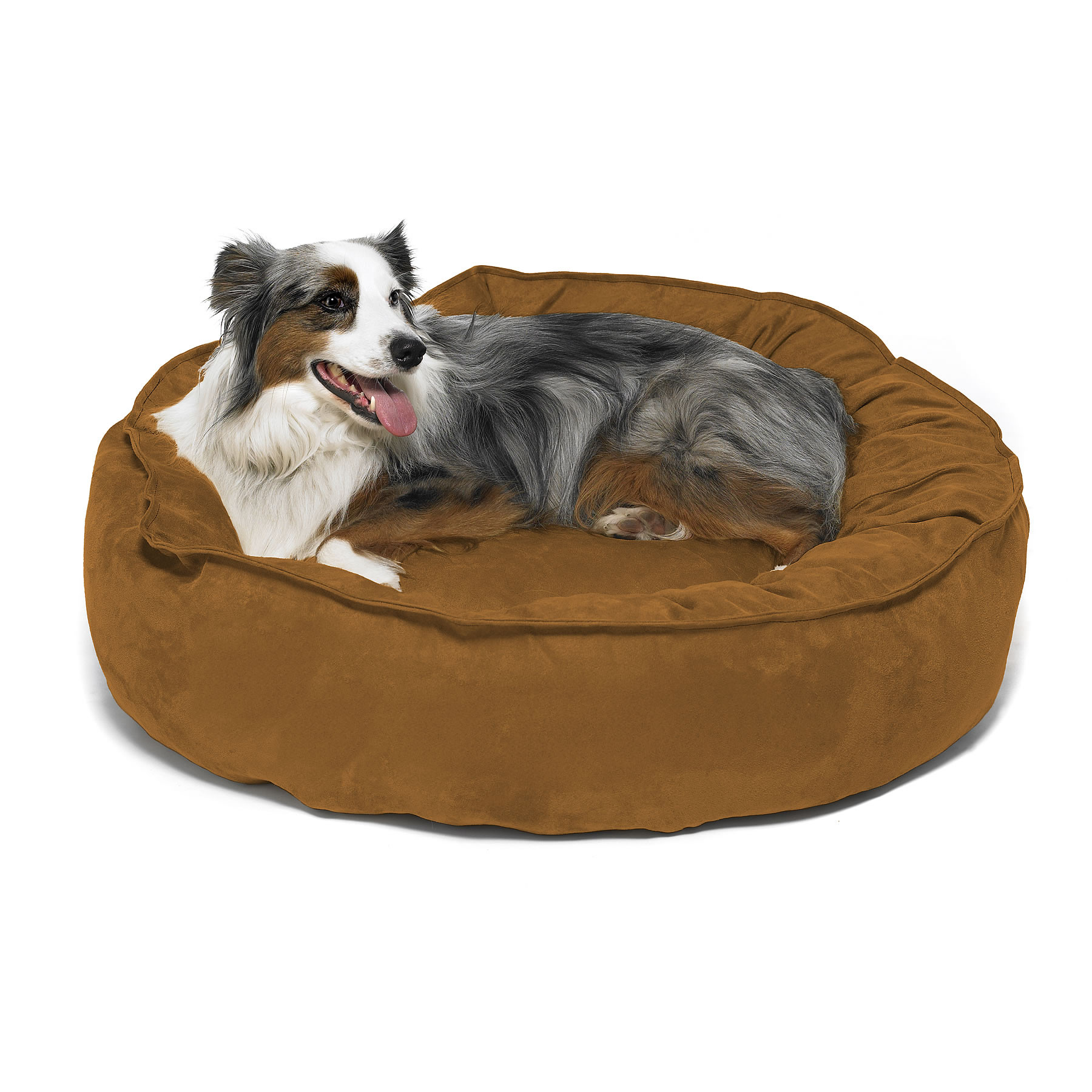 Big shrimpy nest dog bed for Big dog furniture