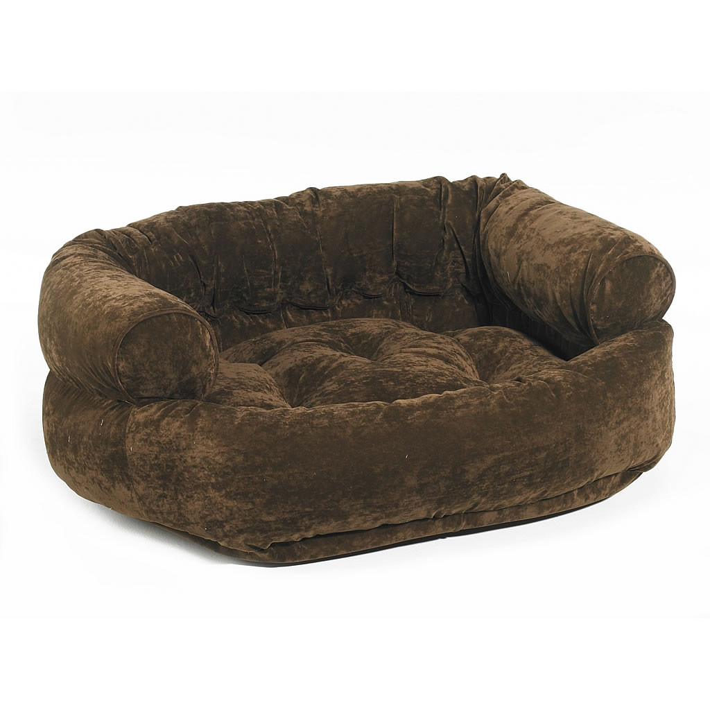 bowsers platinum collection double donut dog bed