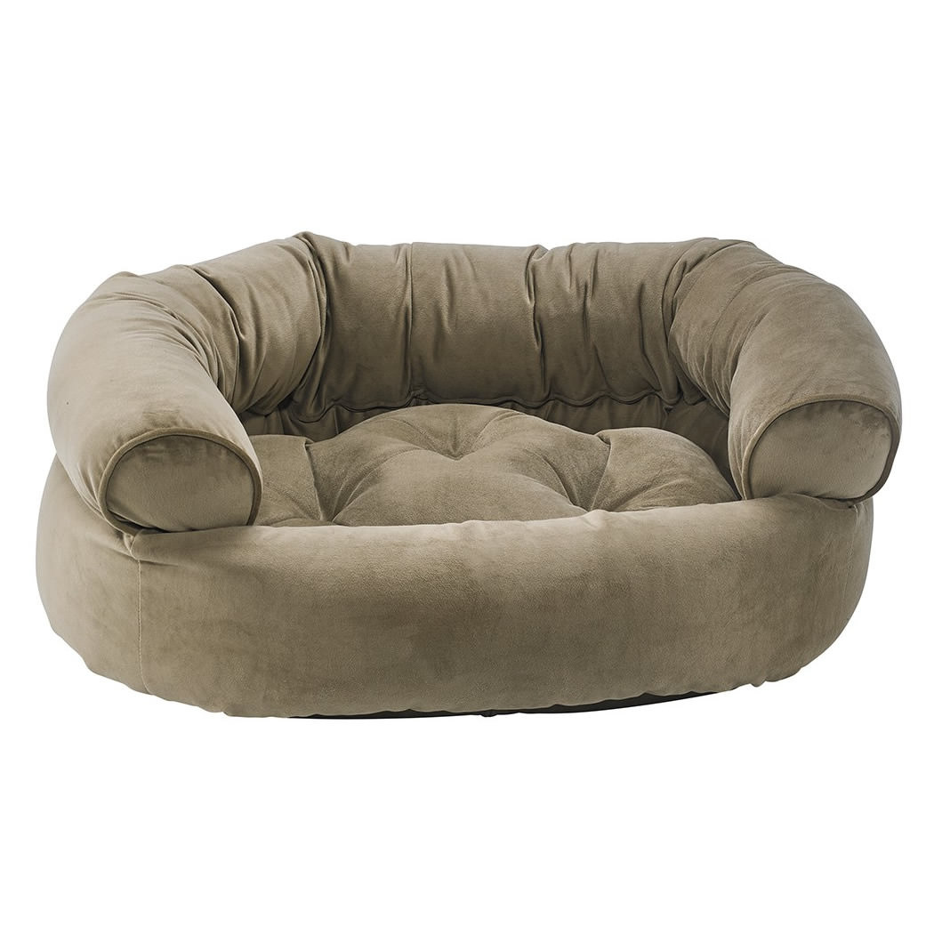 Double Donut Dog Bed Large