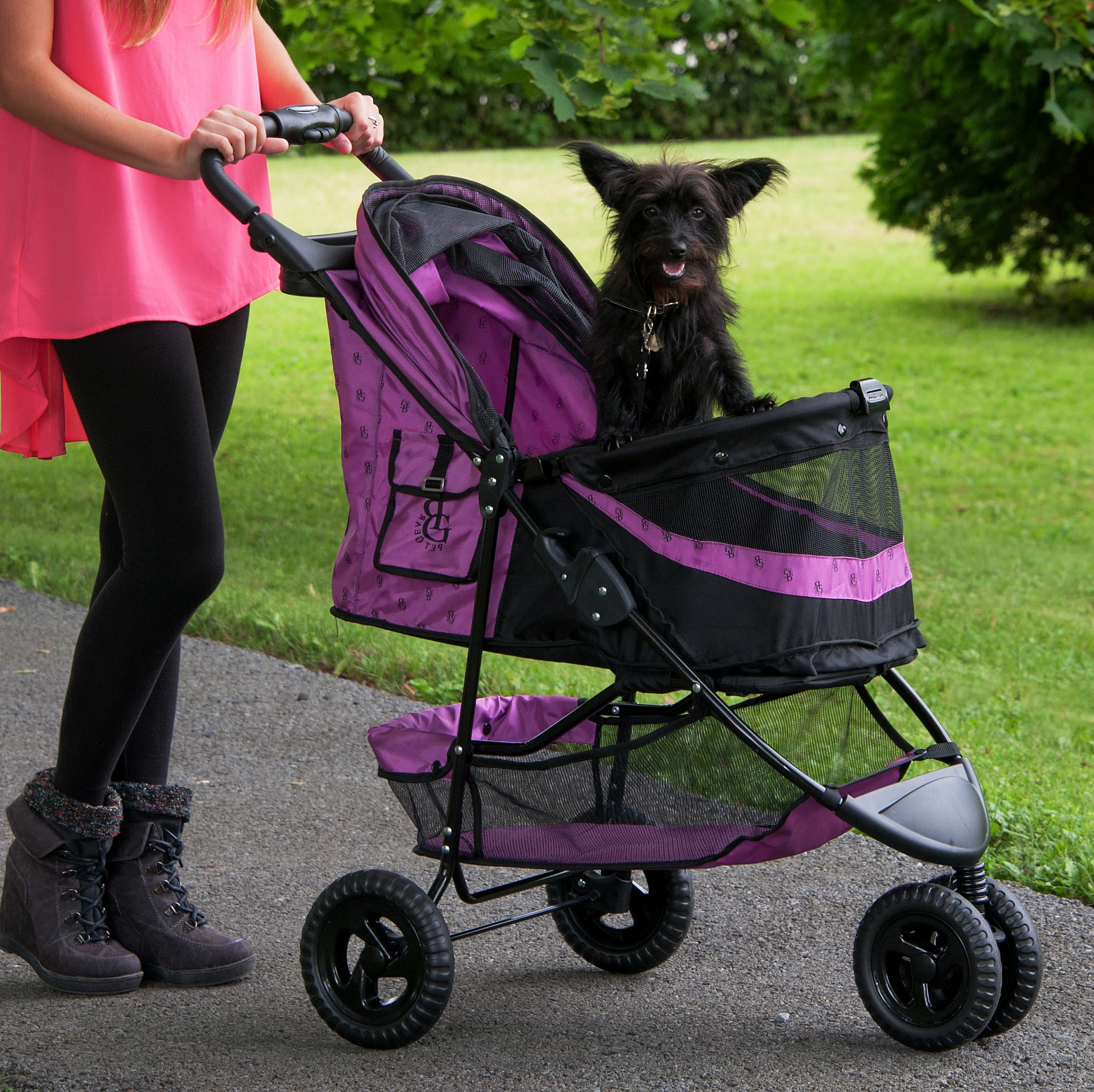 Pet Gear Special Edition No Zip Pet Stroller