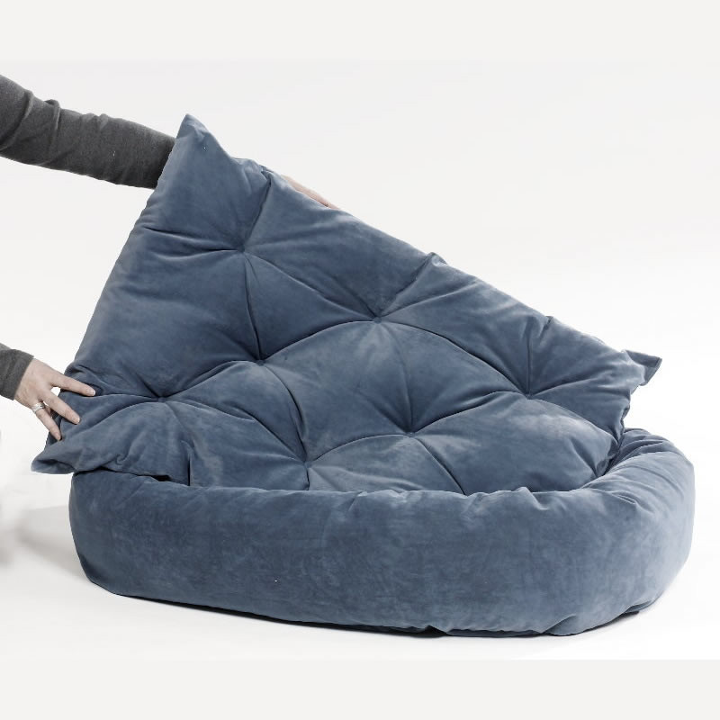 Donut Dog Bed Removable Cover