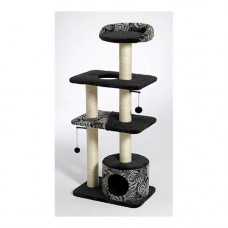 Midwest Catitude Tower Black 22in x 15in x 51in - 138T-BK