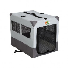 Midwest Canine Camper Sportable Gray 24in x 17.5in x 20.25in - 1724SP