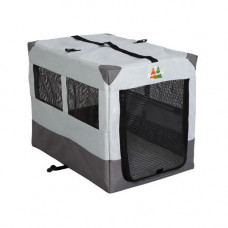 Midwest Canine Camper Sportable Gray 30in x 21.75in x 24in - 1730SP