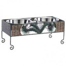 Paradise Double Pet Dining Station