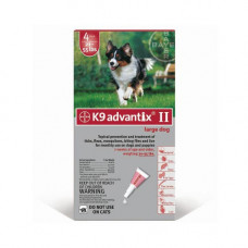Advantix Flea and Tick Control for Dogs 20-55 lbs 4 Month Supply - ADVX-RED-55-4