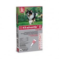 Advantix Flea and Tick Control for Dogs 20-55 lbs 6 Month Supply - ADVX-RED-55-6