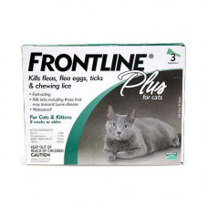 Frontline Flea Control Plus for All Cats And Kittens 3 Month Supply - CAT-3PK-PS