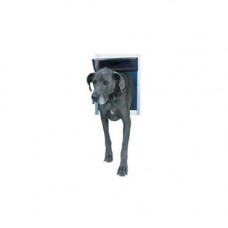 Ideal Deluxe Dog Door Extra Extra Large White - DDSLW