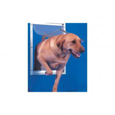 Ideal Deluxe Dog Door Extra Large White - DDXLW