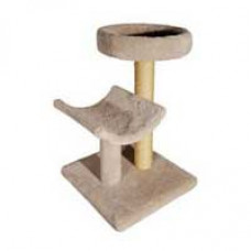 Molly & Friends Double Tier Cat Tree with Bed