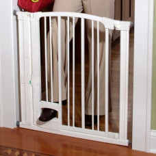 Kidco Pinnacle Gateway Hands Free Gate White 29in - 37in x 31in - G180