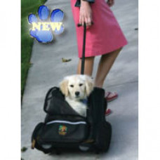 Outward Hound Roll Along Pet Carrier and Backpack