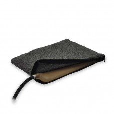 K&H Pet Products Small Animal Heated Pad Cover Grey 9in x 12in x 0.25in - KH1065