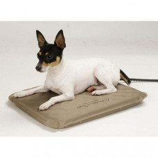 K&H Pet Products Lectro-Soft Heated Outdoor Bed Small 14in x 18in x 1.5in 20 watts - KH1070