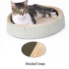 K&H Pet Products Thermo-Kitty Cuddle Up Sage 16in x 16in x 3in - KH3703