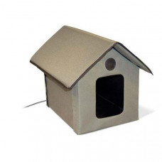 K&H Outdoor HEATED Kitty House 22in x 18in x 17in