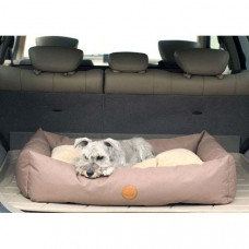 K&H Pet Products Travel / SUV Bed Large Tan 30in x 48in x 8in - KH7611