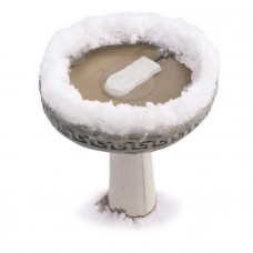 K&H Pet Products Super Ice Eliminator Bird Bath Deicer 80 watts 6.5in x 3.25in x 1in – KH9001