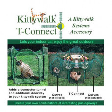 Kittywalk Single T-Connect Unit - KWCON1