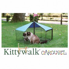 Kittywalk Carousel 48in diameter x 24in – KWSCAR105