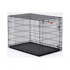 Midwest Life Stages Single Door Dog Crate 42in x 28in x 31in - LS-1642