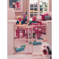 North States Wide Wire Mesh Gate 29.5in - 50in x 32in - NS4615