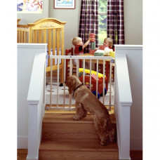 North States Stairway Swing Gate 28in - 42in x 30in - NS4630