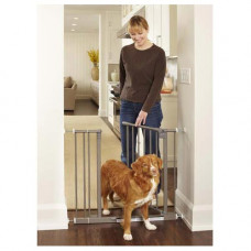 North States Easy-Close Pressue Mounted Steel Gate 28in - 38.5in x 29in - NS4915