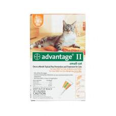 Advantage Flea Control for Cats 1-9 lbs 4 Month Supply - ORANGE-10-4