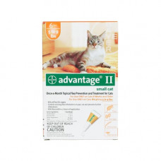 Advantage Flea Control for Cats 1-9 lbs 6 Month Supply - ORANGE-10-6