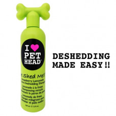 Pet Head De Shed Me Miracle Deshedding Shampoo Strawberry Lemonade 12oz -  PH10114
