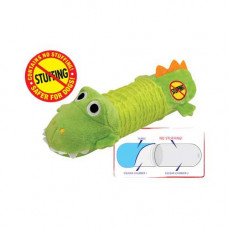 Petstages Stuffing Free Big Squeak Gator - PS631