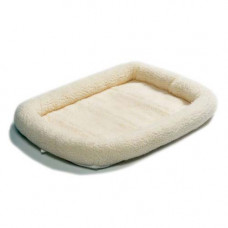 Midwest Quiet Time Fleece Crate Bed 18in x 12in - QT40218