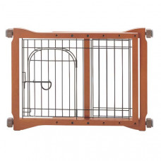 Richell The Pet Sitter Gate Autumn Matte 28.3in - 41.3in x 2in x 20.9in - R94111