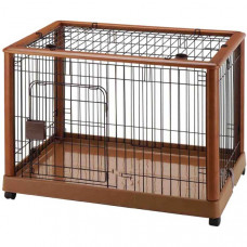 Richell Mobile Pet Pen 940 - Medium 36.8in x 24.2in x 26in - R94128