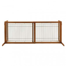 Richell Freestanding Pet Gate HL Autumn Matte 39.4in - 70.9in x 23.6in x 27.6in - R94147