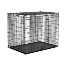 Midwest Solution Series Ginormous Double Door Crate 54in x 37in x 45in - SL54DD