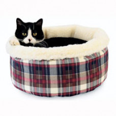 Hidden Valley Comfy Curler Cat Bed