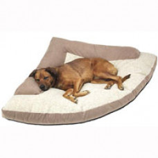 Hidden Valley Corner Dog Bed with Bolster