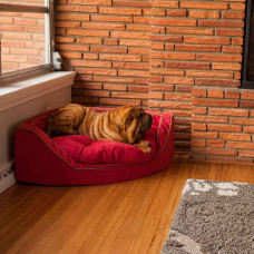 Snoozer Luxury Overstuffed Corner Pet Beds